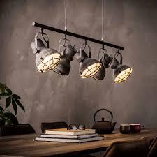 Industriele Hanglamp Feridun 5 Lamps Verlichting Hanglampen