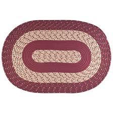 oval braided rug by oakridge 345197
