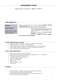 Resume Templates For Electrical Engineer Freshers Download