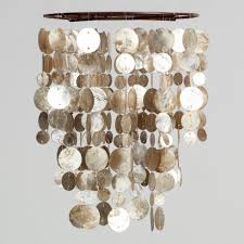 capiz lotus chandelier shell light fixture capiz chandelier