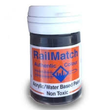 Railmatch Paints Colour Chart Railmatch Paint Howes Models Radio Control Model Boats