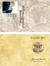 Passport Invitation Templates needed please - Weddingbee