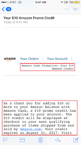 great job amazon i just hope they can add more s that accept amazon cash specifically walgreens since there are way