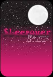 sleepover template a flash light free printable sleepover party invitation template