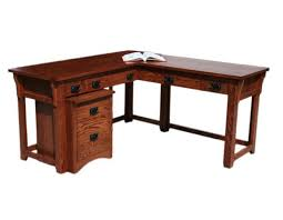 oak designs mission desk