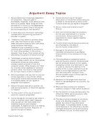 topics of argumentative essay gse bookbinder co persuasive essay  topics of argumentative essay gse bookbinder co persuasive essay topics for high school students examples essay and paper