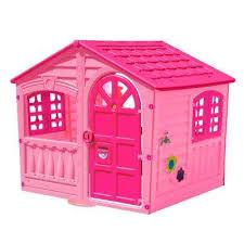 palplay house of fun playhouse in pink