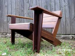 Wood Contemporary Patio Furniture