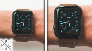 Apple Watch Face Size Chart Apple Watch 38mm Vs 42mm Watch This Before You Buy