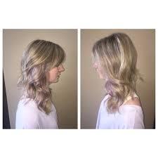 Blonde Highlights With Subtle Lavender
