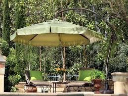 offset patio umbrella replacement parts treasure garden cantilever