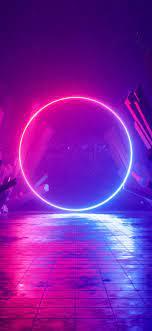 Neon light Wallpaper 4K, Ring, Huawei ...