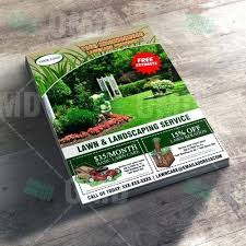 Landscape Door Hanger Ideas High Quality Lawn Care Marketing