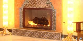 moroccan tiles fireplace 2