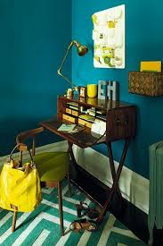 office nook interior design ideas for small spaces flats chic mint teal office