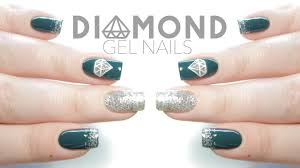 Easy Diamond Gel Nail Art for Beginners | New Year's Eve Nails ...