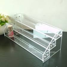 Acrylic Tiered Display Stands New 100 tier Clear Acrylic Display Stand Holder For Nail Polish 13