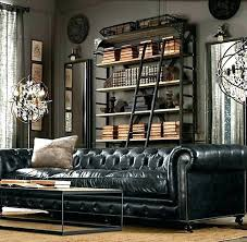 restoration hardware leather sofa full size of r chesterfield reviews sectional couch used hardwar