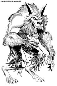 Small Picture werewolf coloring pages