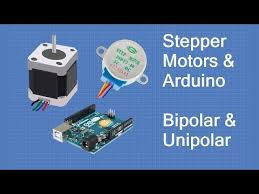 stepper motors with arduino bipolar