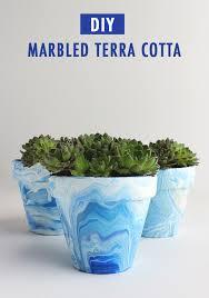 marble terracotta pots