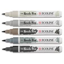 Royal Talens Ecoline Brush Pen Markers And Sets