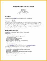 Cna Resume Cover Letter Resume For Study
