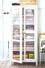 ikea storage cupboards linen closet linen closet storage freestanding cabinet glass door cabinet from linen cabinet green ikea storage cupboards bedroom