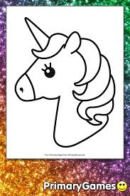 On this page you'll find a huge collection of pictures to color in for kids who like hearts, unicorns, and all things cute! Cute Unicorn Coloring Page Free Printable Pdf From Primarygames
