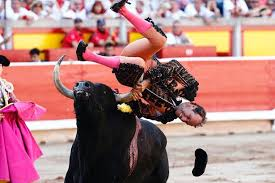 bull fighting injuries. Exellent Fighting Pablo Was Tossed Around The Bullring For What Horrified Witnesses Described  As  In Bull Fighting Injuries