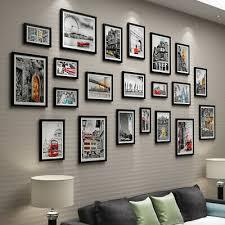 23pcs multi picture photo family frames