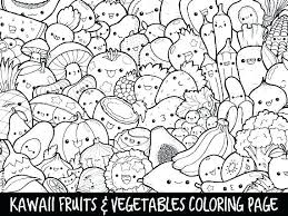 Coloring Pages For Kids Summer Halloween Printable Unicorn Of Fruit
