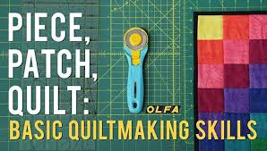 Piece, Patch, Quilt: Basic Quiltmaking Skills Quilting Class | Craftsy & Preview Adamdwight.com