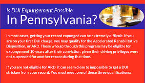 How Long Does A Dui In Pennsylvania Stay On My Record