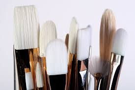 the types of paintbrushes