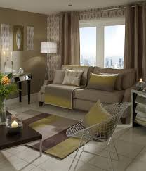 Living Room Ready Made Curtains Ripple Ready Made Lined Eyelet Curtains Putty Luxury Ringtop