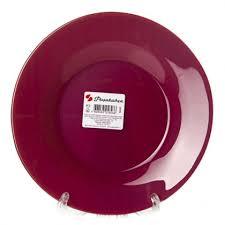 <b>Тарелка</b> плоская <b>Pasabahce</b> Workshop <b>Purple</b> City 19,5см стекло ...
