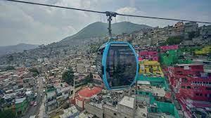 Commuters escape Mexico City gridlock ...
