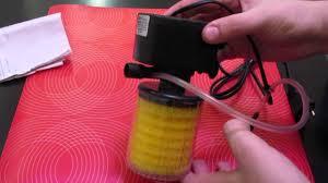 Внутренний фильтр для аквариума - JEBO. - YouTube