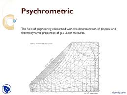 Psychrometric-Humidification-Lecture Slides - Docsity