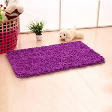 gy microfibre bathroom shower bath purple carpet mat non slip backing rug