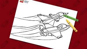 Coloring Pages Lego City Lego Com Us