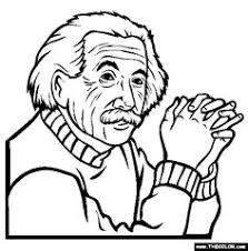 Small Picture coloring pages kids teaching Albert Einstein American history
