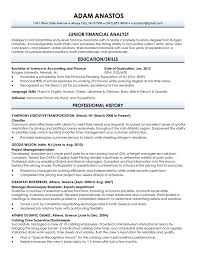 Recent Graduate Resume Example