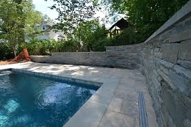 pool retaining wall pool deck and retaining wall pool retaining wall ideas