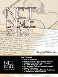 Net Bible Synopsis Of The Four Gospels Bible Org