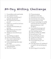 best essay prompts ideas writing topics 30 day writing challenge would revise some of the prompts to use in high school