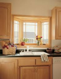 Bay Window Kitchen Kitchen Kitchen Bay Window Inside Satisfying Kitchen Bay Windows