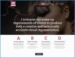 makeup artist websites templates free website templates for makeup artist fresh makeup artist bio