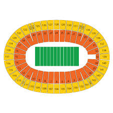 Complete Cotton Bowl Stadium Seating Chart Rows Cotton Bowl